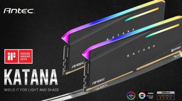 Antec 16GB Katana RGB (2x8GB) DDR4 3200MHz C16 16-18-18-38