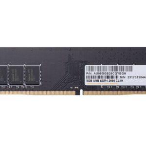 Apacer 8GB (1x8GB) DDR4 UDIMM 2666MHz CL19 Single Ranked Desktop PC Memory RAM ~MECD4-1X8G26SR-NT