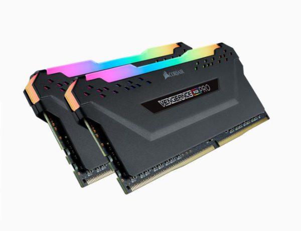 Corsair Vengeance RGB PRO 32GB (2x16GB) DDR4 3200MHz C16 Desktop Gaming Memory AMD Optimized
