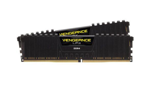 Corsair Vengeance LPX 32GB (2x16GB) DDR4 3600MHz C18 Black Heat Spreader XMP 2.0 Desktop Gaming Memory Black