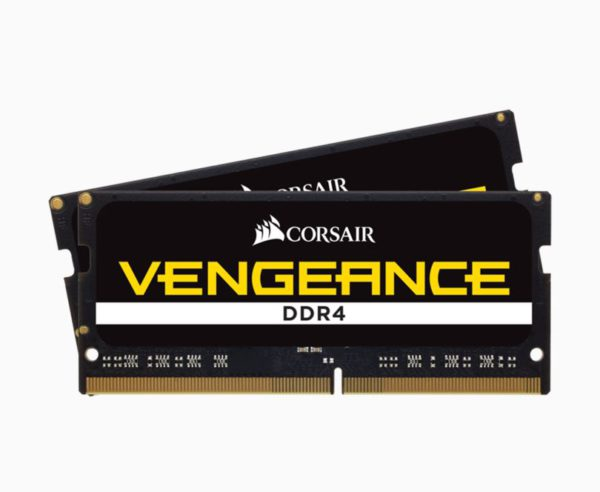 Corsair Vengeance 64GB (2x32GB) DDR4 SODIMM 2666MHz CL18 1.2V Notebook Laptop Memory RAM
