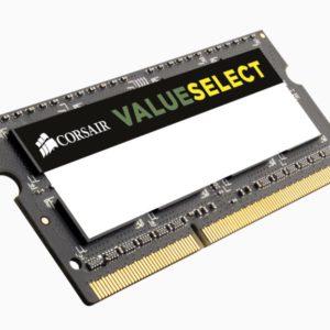 Corsair Value Select 4GB (1x4GB) DDR3 SODIMM 1333MHz 1.5V PC3-10600 204pin