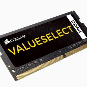 Corsair 4GB (1x4GB) DDR4 SODIMM 2133MHz Black 1.2V 15-15-15-36 260pin Notebook Memory