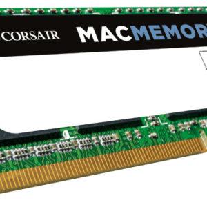 Corsair 4GB (1x4GB) DDR3 SODIMM 1333MHz 1.5V MAC Memory for Apple Macbook Notebook RAM