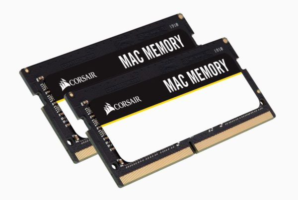 Corsair 64GB (2x32GB) DDR4 SODIMM 2666MHz C18 1.2V MAC Memory for Apple Macbook Notebook RAM