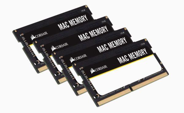 Corsair 32GB (4x8GB) DDR4 SODIMM 2666MHz 1.2V MAC Memory for Apple Macbook Notebook RAM