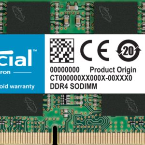 Crucial 8GB (1x8GB) DDR4 SODIMM 2666MHz CL19 1.2V Notebook Laptop Memory RAM ~CT8G4SFS8266