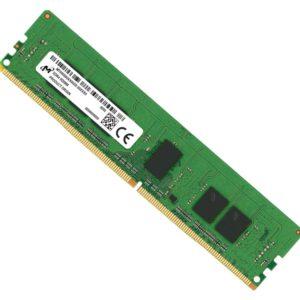 Micron 8GB (1x8GB) DDR4 RDIMM 2666MHz CL19 1Rx8 ECC Registered Server Memory 3yr wty