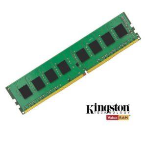 Kingston 4GB (1x4GB) DDR4 UDIMM 2400MHz CL17 1.2V Unbuffered ValueRAM Single Stick Desktop Memory