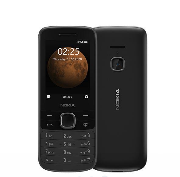 Nokia 225 4G Black- 2.4' Display