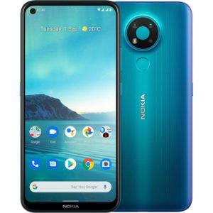 Nokia 3.4 64GB Fjord - 6.3' HD+ Punch Hole Display
