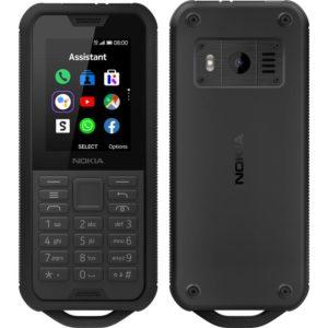Nokia 800 4G Tough Black- 2.4' Screen