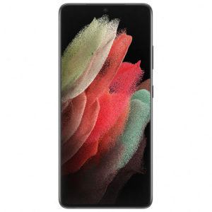 Samsung Galaxy S21 Ultra 5G 128GB Phantom Black- 6.8' Intelligent Infinity-O Display