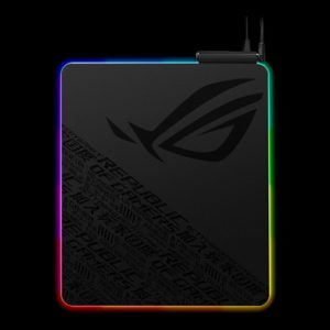 ASUS ROG Balteus QI Gaming Mouse Pad (NH01) Qi Wireless Charging LED Indicator