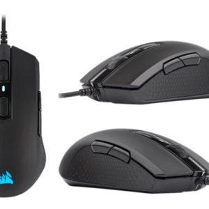 Corsair M55 RGB PRO Ambidextrous Multi-Grip Gaming Black Mouse