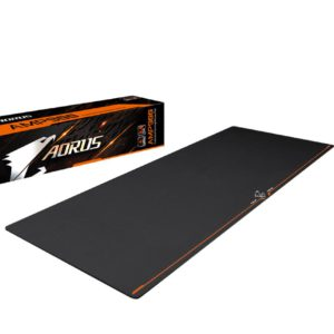 Gigabyte AORUS AMP900 Extended Gaming Mouse Pad Micro Pattern Desk-sized Spill resistant High-density Rubber Base 900*360*3 mm