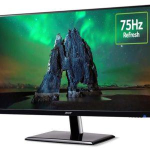 Acer EH273 27' 75Hz Full HD LED Monitor 1920x1080 4ms 16:9 16.7M 3000:1 Tilt VESA VGA HDMI ComfyView ZeroFrame ~ MNS-LS27R350