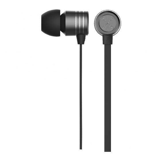 Verbatim In-Ear Earphones with Mic & Volume Control - Space Grey