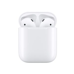 Apple AirPods with Charging Case - Dual beamforming microphones