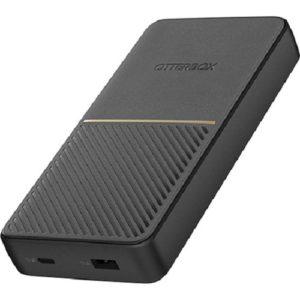 OtterBox 20K mAh Power Bank USB-A & C 18W Twilight - Black - Sleek