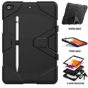 Universal Rugged Case for Samsung Galaxy Tab A7 - Black