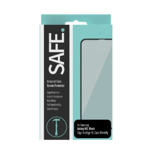 SAFE Tempered Glass Screen Protector - Case Friendly - for Samsung Galaxy A12 - Drop Protective