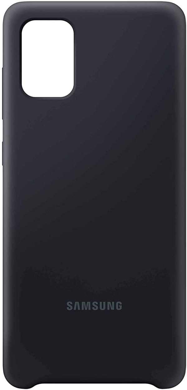 SAMSUNG GALAXY A71 SILICONE COVER BLACK- Silky smooth and stylish