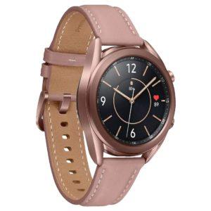 Samsung Galaxy Watch3 Bluetooth (41mm) Mystic Bronze -1.2' Super AMOLED Display