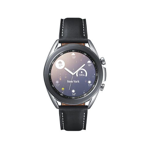 Samsung Galaxy Watch3 Bluetooth (41mm) Mystic Silver - 1.2' Super AMOLED Display