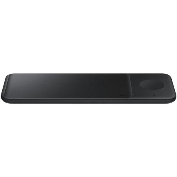 Samsung Galaxy Trio Wireless Charger - Trio Charger Pad - Black - Wireless Fast Charging (Samsung Galaxy