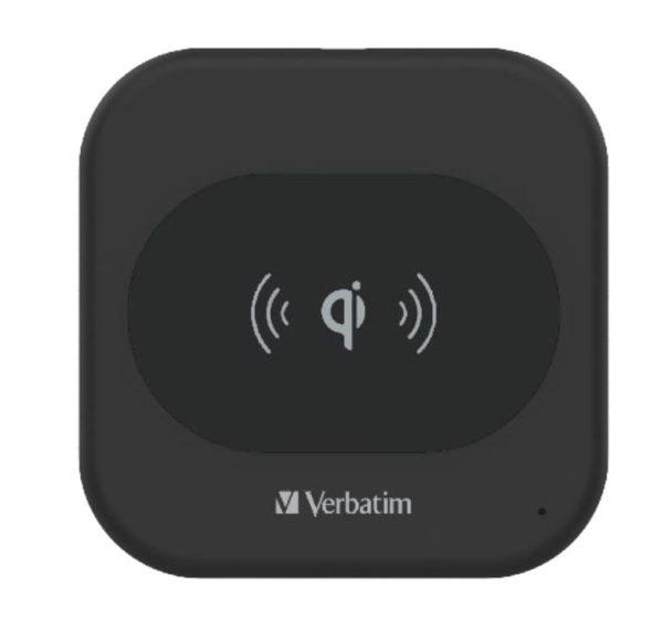 Verbatim Wireless Charger 15W - Black