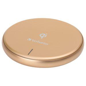 Verbatim Metallic Wireless Charger-GOLD
