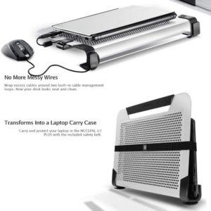 Coolermaster NotePal U3 PLUS Silver Notebook Cooler Stand
