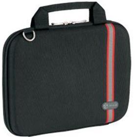 Targus 10' Racing Hard Case Racing Stripe Hardsided/Notebook/Laptop Bag -Black (LS)