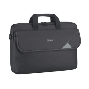 Targus 15.6' Intellect Top Load Case/Laptop/Notebook Bag with Padded Laptop Compartment - Black