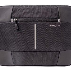 Targus 13-14'' Bex II Laptop Sleeve/Case/Notebook Bag  - Weather-resistant & rip-stop fabrication - Black with black trim