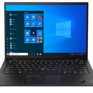 LENOVO THINKPAD X1 CARBON GEN 9 14IN WUXGA I5-1135G7 8GB RAM 256SSD WIN10 PRO 3YOS INCL 1YPS