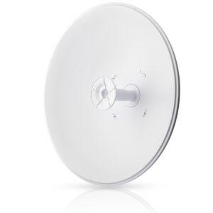 Ubiquiti 5GHz airFiber Dish 30dBi Slant 45 degree signal angle for optimum interference avoidance