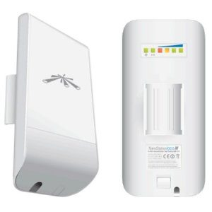 Ubiquiti airMAX Nanostation LOCO M 2.4GHz Indoor/Outdoor CPE - Point-to-Multipoint(PtMP) application - Includes PoE Adapter