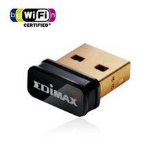 Edimax EW-7811UN N150 Nano Wireless USB Adapter LAN/802.11bgn/2.4Ghz (150Mbps)/USB/Miniature Design/Design for Notebook Laptop