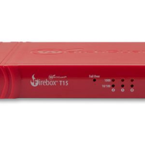 WatchGuard Firebox T15 with 1-yr Standard Support (WW) - Only available to WGOne Silver/Gold Partners