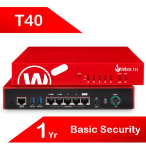 WatchGuard Firebox T40 with 1-yr Basic Security Suite (AU)