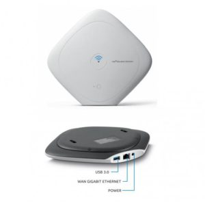 Intel Class Connect Access Point featuring 500GB Hard Drive and 5 Hours Battery. Content Hosting. Intel part number WRTD-303N
