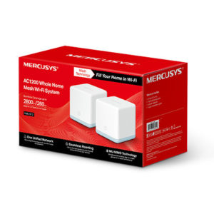 Mercusys Halo S12(2-pack) AC1200 Whole Home Mesh Wi-Fi 1167Mbps System