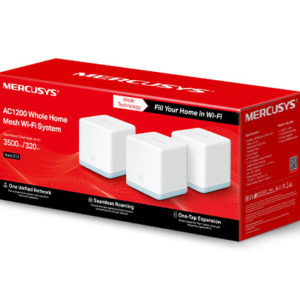 Mercusys Halo S12(3-pack) AC1200 Whole Home Mesh Wi-Fi 1167Mbps System