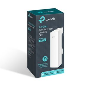 TP-Link CPE210 2.4GHz 300Mbps 9dBi Outdoor CPE Access Point 27dBm 5km Passive PoE MIMO antenna