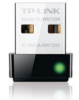 TP-Link TL-WN725N N150 Nano Wireless N USB Adapter 2.4GHz (150Mbps) 1xUSB2 802.11bgn Internal Antenna miniature design for Notebook Laptop