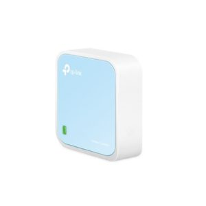 TP-Link TL-WR802N N300 Wireless N Nano Router 2.4GHz 300Mbps 1x100Mbps LAN/WAN 1xMicro USB 802.11bgn Built-in Antenna Pocket Size Travel Router