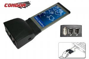 Condor USB & IEEE1394 Exp Card 1 x USB