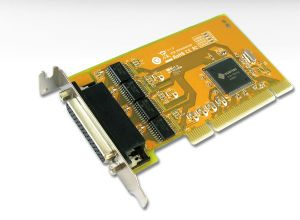 Sunix 4 Port Serial PCI Low Profile Card RS232 (Includes 4 x Spliter Cable) - Add/Expand 4*RS-232 ports on PC-based System